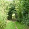 Footpath at Hooley, Surrey