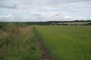 Farmland near Catton Hall