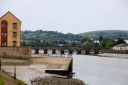 Barnstaple bridge over the River Taw