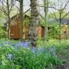 Risley Moss Visitor Centre in springtime