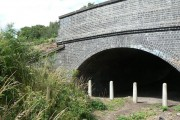 Footbridge under the railway