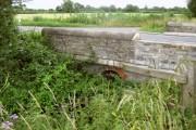 Overgrown bridge on the A372