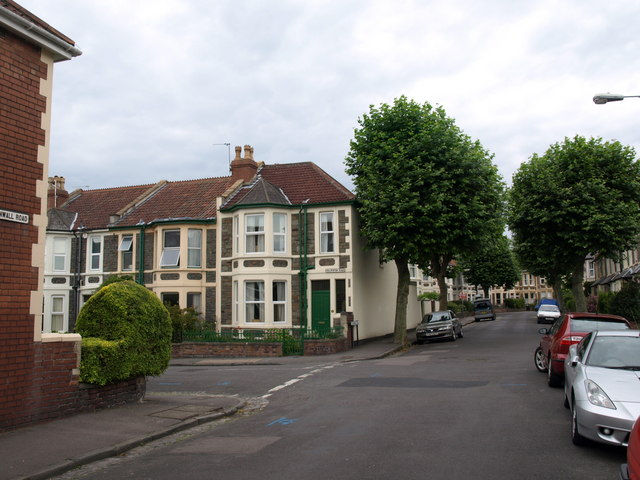 Junction of Dulverton Road and Cornwall Road, Bristol