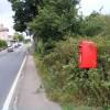 A12 Main Rd Darsham & The Stn Postbox no IP17 4607