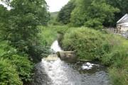 Middle Mill, Solva: River Solva, near the Woollen Mill