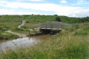 Bridleway bridge over Crimdon Beck