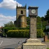 Brougton Silver Jubilee Clock