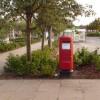 Canford Heath: postbox № BH17 398, Neighbourhood Centre