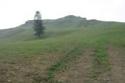 The start of the Aran ridge