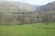 Farmland below Cwm Pen-y-gelli