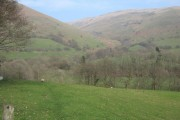 Looking towards Cwm Llygoed