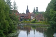 Whitchurch from the toll bridge