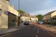 Early evening in Front Street, Lanchester