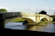 East Park's Bridge in the late afternoon