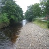 River Wear from footbridge at Stanhope