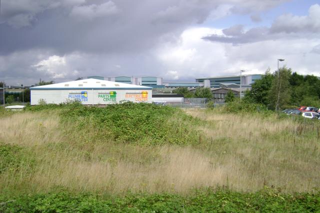 Vacant plot, Titan Business Centre, south Leamington