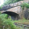 Road bridge over the Weardale Railway at Wolsingham