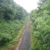 Weardale Railway approaching Wolsingham Station