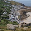 Sennen Cove from above