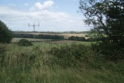 Farmland north of Stanmer Park
