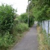 Footpath rear of Haseley Close, Leamington Spa