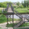 Footbridge over the Rotherham Cut