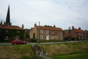 Cottages and Church - Bishop Wilton
