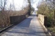Burying Lane crossing Harley Dike
