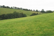View, towards Blackdown Cottage