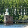 The valve tower, Castle Carrock Reservoir