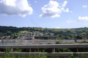 Ringmore waterfront from across the River Teign
