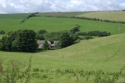 The Valley near South Huish