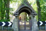 Lych Gate at St.Johns Church Longhirst