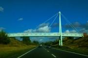 Footbridge on Billingshurst bypass