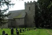 St Margaret's, Acton Scott on a summer morning
