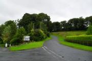 Approaching Darkley village