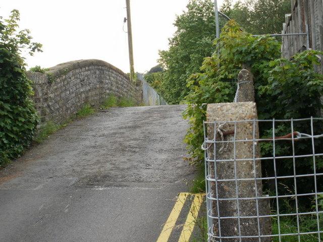 Humpback bridge to Glebelands