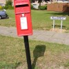 School Road  Postbox