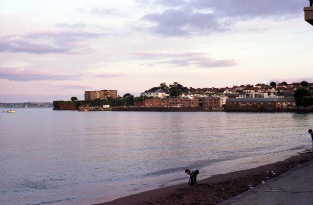 Looking to Roundham Head at Paignton