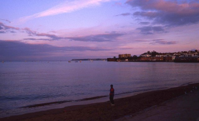 Paignton in the evening
