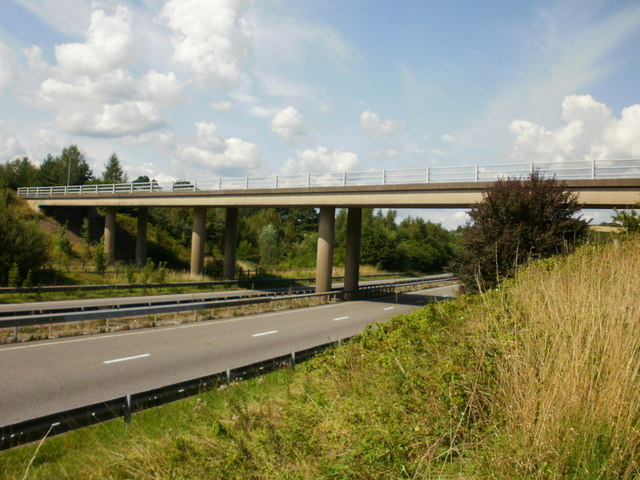 Pillmawr Road bridge across A4042