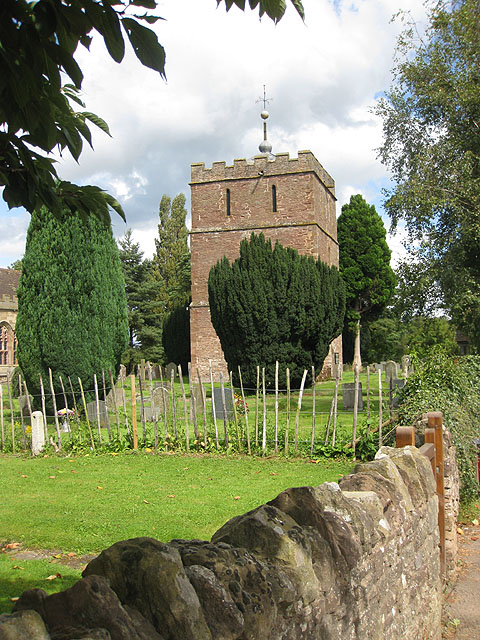 Detached tower of Holy Trinity Church, Bosbury