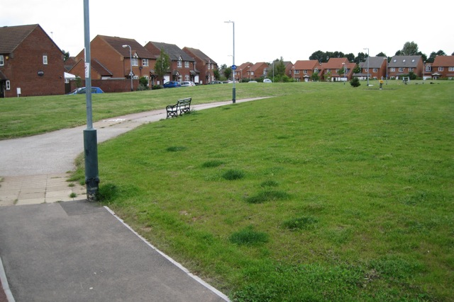Greenspace off Montgomery Road, Whitnash