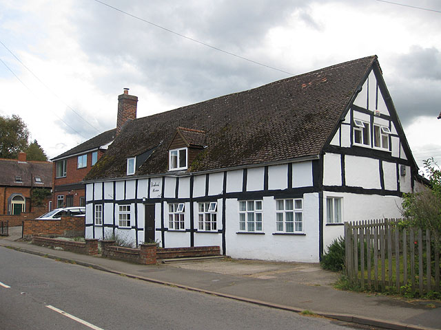 Pair of 16th century timber-framed cottages, Bosbury