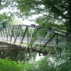 Footbridge over River Tawe at Clydach
