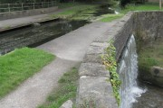Swansea Canal overflows into Lower Clydach River