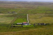 Hough House and the plains of Tiree
