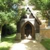 Looking towards the porch at St John the Evangelist, Milton
