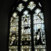 Stained glass window near the prayer corner at St Peter and St Paul, Steeple Aston