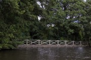 Railway bridge at Drayton Manor Park